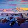 """ ARCTIC MORNING "" 27"" X  37"" LIMITED EDITION LITHOGRAPH"