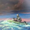 """Adrift""  30 X 40"" OIL ON CANVAS"